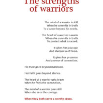 Strengths of warriors by Dorothy Oger